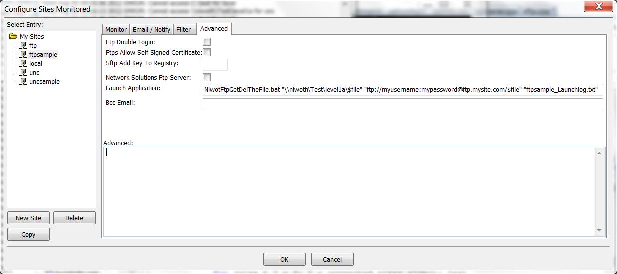 Sample Batch Files